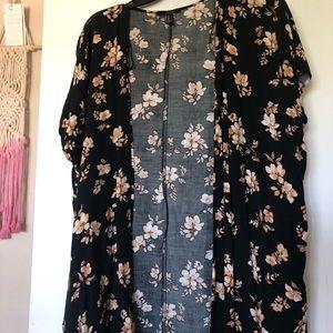 Floral cardigan